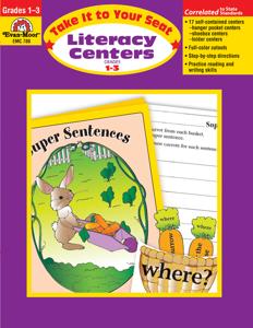 Take It To Your Seat: Literacy Centers, Grades 1-3 - Teacher Reproducibles, E-book