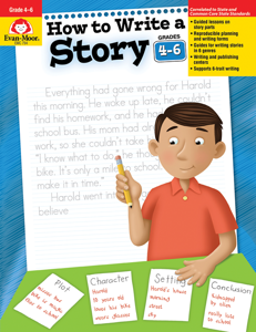 How to Write A Story, Grades 4-6 - Teacher Reproducibles, E-book