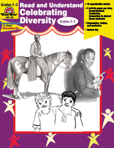 Read and Understand Celebrating Diversity, Grades 2-3 - Teacher Reproducibles, E-book