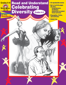 Read and Understand Celebrating Diversity, Grades 4-6 - Teacher Reproducibles, E-book