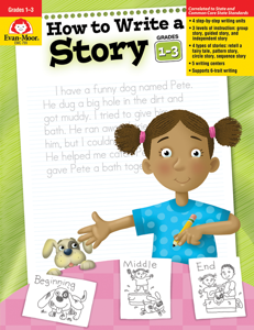 How to Write A Story, Grades 1-3 - Teacher Reproducibles, E-book