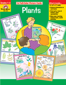 Science Picture Cards: Plants, Grades K-2 - Teacher Reproducibles, E-book