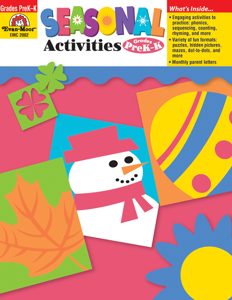 Seasonal Activities, Grades PreK-K - Teacher Reproducibles, E-book