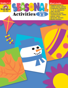 Seasonal Activities, Grades 1-2 - Teacher Reproducibles, E-book