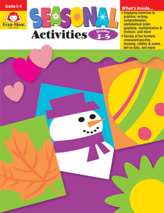 Seasonal Activities, Grades 3-5 - Teacher Reproducibles, E-book