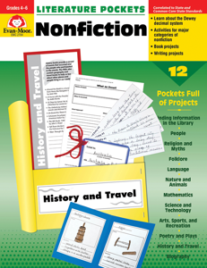 Literature Pockets: Nonfiction, Grades 4-6+ - Teacher Reproducibles, E-book