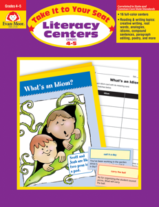 Take It To Your Seat: Literacy Centers, Grades 4-5 - Teacher Reproducibles, E-book