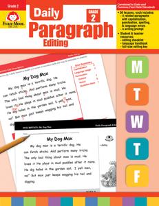 Daily Paragraph Editing, Grade 2 - Teacher's Edition, E-book