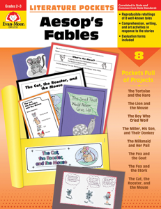 Literature Pockets: Aesop's Fables, Grades 2-3 - Teacher Reproducibles, E-book