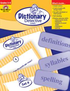 Reference Activity Cards, Grades 3-6 - Teacher Reproducibles, E-book