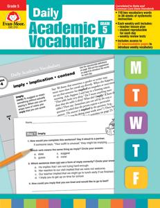 Daily Academic Vocabulary, Grade 5 - Teacher's Edition, E-book