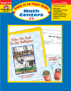 Take It To Your Seat: Math Centers, Grades 4-6 E-book