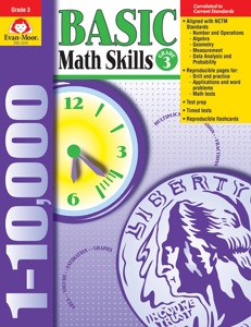Basic Math Skills, Grade 3 - Teacher Reproducibles, E-book