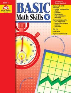 Basic Math Skills, Grade 5 - Teacher Reproducibles, E-book
