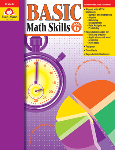Basic Math Skills, Grade 6 - Teacher Reproducibles, E-book