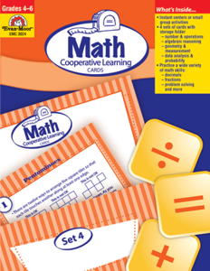 Math Activity Cards, Grades 4-6+ - Teacher Resource, E-book