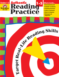 Authentic Reading Practice, Grades 1-3 - Teacher Reproducibles, E-book
