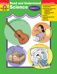 Read and Understand Science, Grades 3-4 - Teacher Reproducibles, E-book