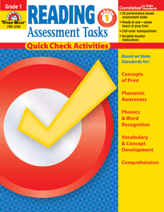 Reading Assessment Tasks, Grade 1 - Teacher Reproducibles, E-book