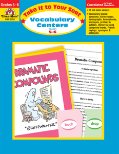 Take It To Your Seat: Vocabulary Centers, Grades 5-6 - Teacher Resource, E-book