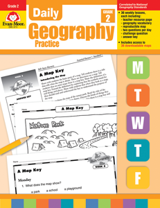 Daily Geography Practice, Grade 2 - Teacher's Edition, E-book