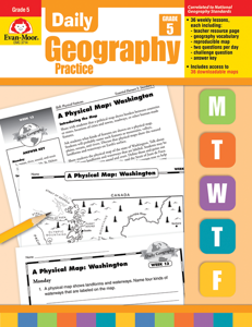 Daily Geography Practice, Grade 5 - Teacher's Edition, E-book
