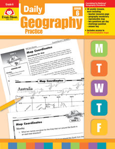 Daily Geography Practice, Grade 6 - Teacher's Edition, E-book