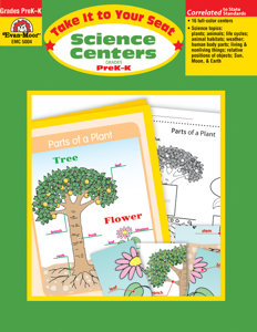 Take It To Your Seat: Science Centers, Grades PreK-K - Teacher Reproducibles, E-book