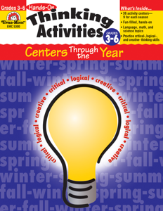 Hands-On Thinking Activities, Grades 3-6 - Teacher Reproducibles, E-book