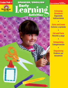 Spanish/English Activities: Early Learning Activities, Grades PreK-K - Teacher Reproducibles, E-book