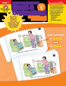 Spanish/English Read and Understand, Grade 1 - Teacher Reproducibles, E-book