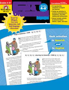 Spanish/English Read and Understand: Fiction, Grades 4-6+ - Teacher Reproducibles, E-book