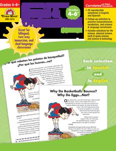 Spanish/English Read and Understand: Science, Grades 4-6+ - Teacher Reproducibles, E-book