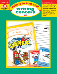 Take It To Your Seat: Writing Centers, Grades 3-4 - Teacher Resource, E-book