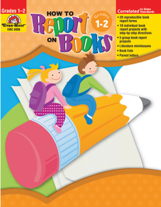 How to Report on Books, Grades 1-2 - Teacher Reproducibles, E-book