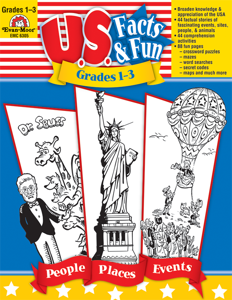 U.S. Facts & Fun, Grades 1-3 - Teacher Reproducibles, E-book
