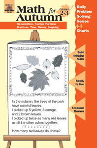 Math for Autumn, Grades 2-3 - Teacher Reproducibles, E-book