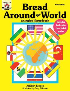 Complete Thematic Units, Bread Around the World - Teacher Reproducibles, E-book