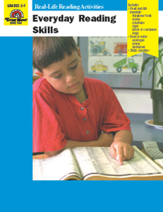 Everyday Reading Skills - Teacher Reproducibles, E-book