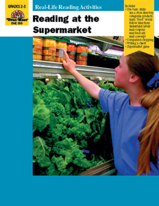 Reading at the Supermarket - Teacher Reproducibles, E-book