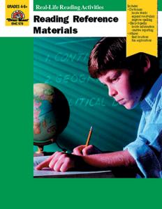 Reading Reference Materials - Teacher Reproducibles, E-book