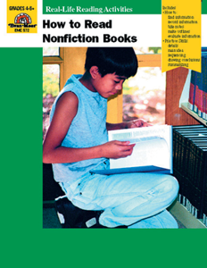 How to Read Nonfiction Books - Teacher Reproducibles, E-book