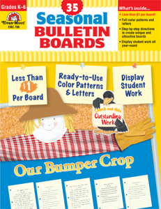Seasonal Bulletin Boards, Grades K-6 - Teacher Reproducibles, E-book