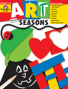 Art for All  Seasons, Grades 1-4 - Teacher Reproducibles, E-book