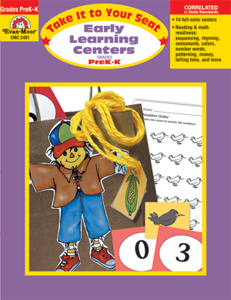 Take It to Your Seat Early Learning Centers PreK-K - Teacher Resource, E-book