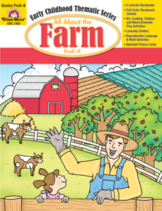 All About the Farm, Grades PreK -K -Activity Book, E-Book