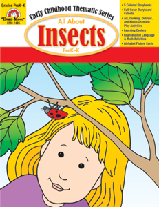 All About Insects, Grades PreK -K -Activity Book, E-Book