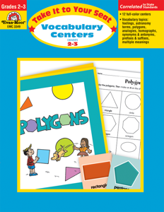 Take It To Your Seat: Vocabulary Centers, Grades 2-3 - E-book