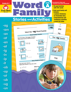 Word Family Stories and Activities, Grades K-2 (Level A)- Teacher Reproducibles, E-book