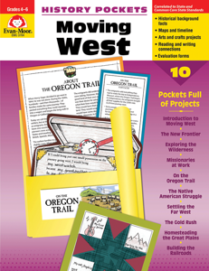 History Pockets: Moving West, Grades 4-6 - Teacher Reproducibles, E-book